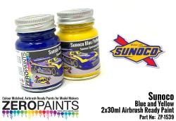 Sunoco Blue and Yellow Paint Set 2x30ml
