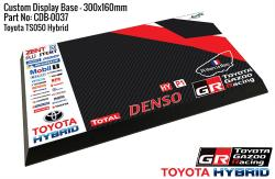 Toyota TS050 Hybrid Gazoo Racing - Display Base for Model Kits 300x160mm