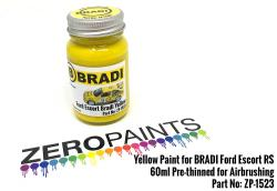 Yellow Paint for BRADI Ford Escort RS 60ml