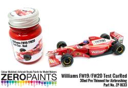 Williams FW19/FW20 Test Car - Red Paint 30ml