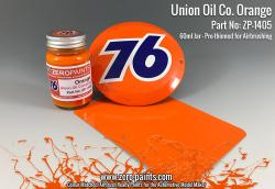 Union Oil Co 76 Orange Paint 60ml