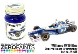 Williams FW19 Blue Paint 30ml