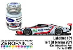 #69 Ford GT Le Mans Light Blue Paint 30ml