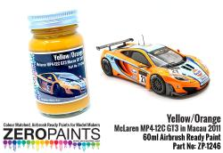 Yellow/Orange Paint McLaren MP4-12C GT3 in Macau 2011 (for Fujimi) 60ml