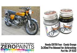 Honda CB750 Four - Candy Orange Paint Set 2x30ml
