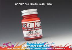 Red Paint 30ml - Similar to Tamiya X7