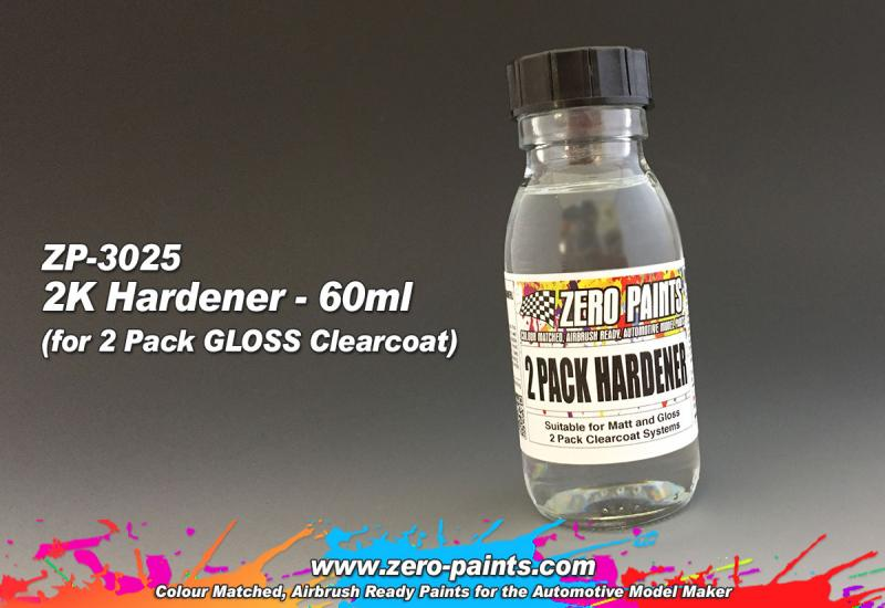 60ml Spare Hardener for (2 Pack GLOSS Clearcoat Set ZP-3006)