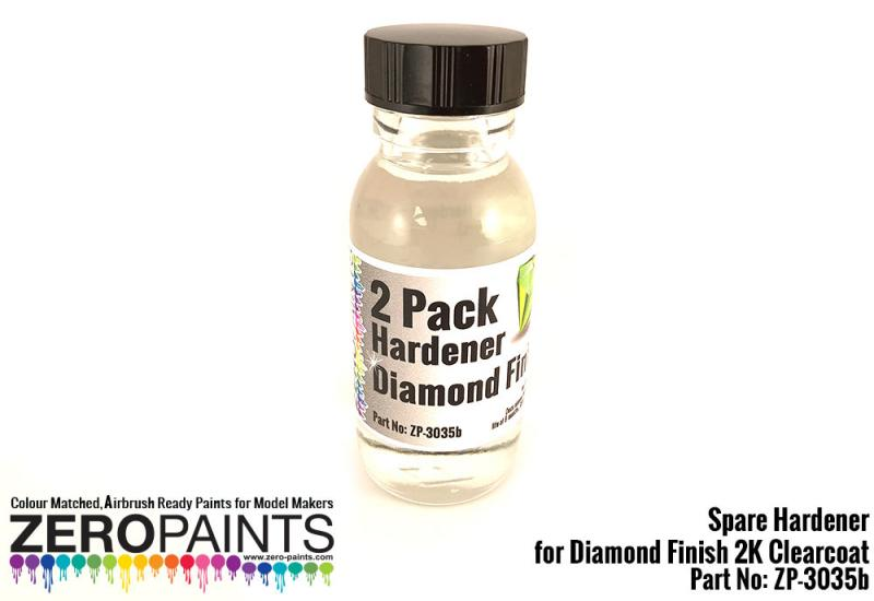 60ml Spare Hardener for (Diamond 2 Pack GLOSS Clearcoat Set ZP-3035)