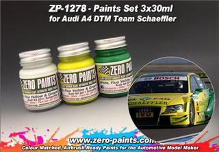 Audi A4 DTM Team Schaeffler Paint Set 3x30ml