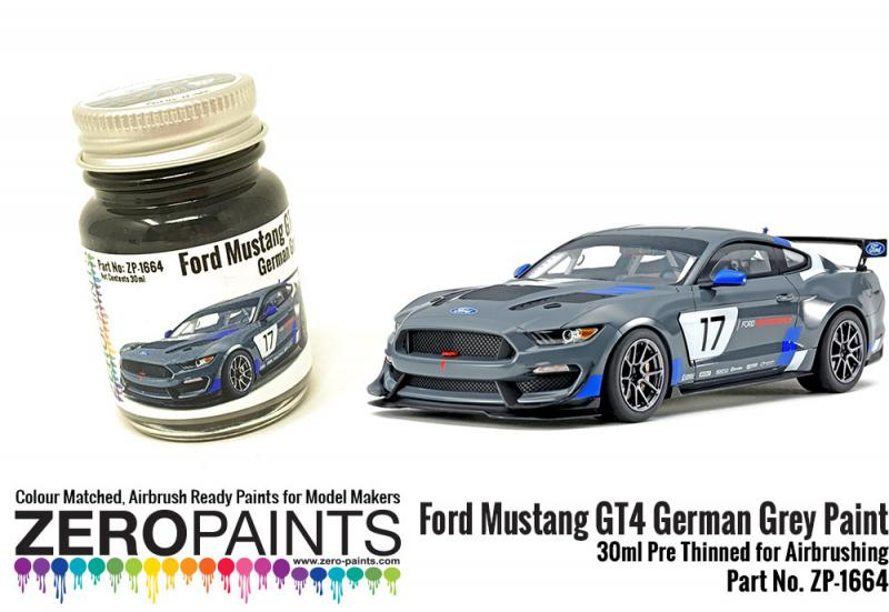 Ford Mustang GT4 German Grey Paint - 30ml