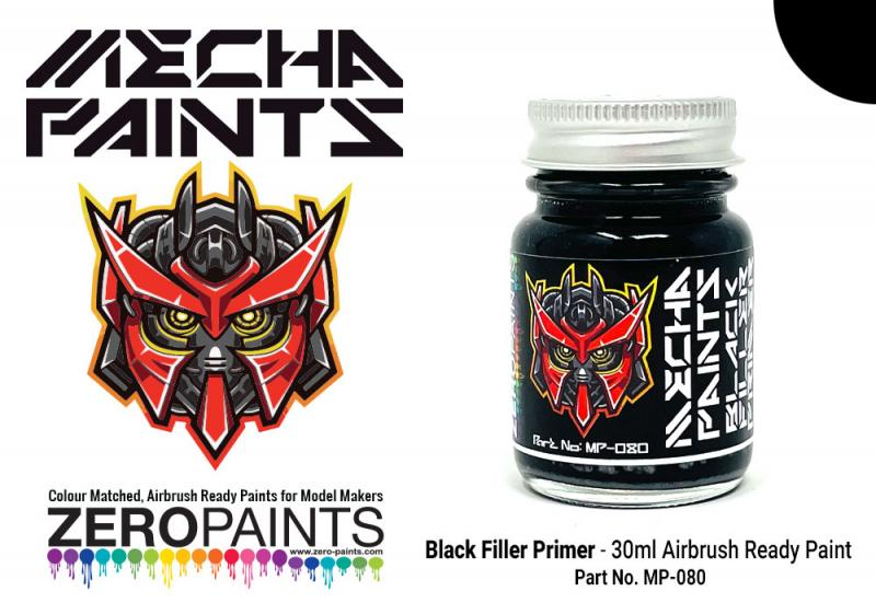 Black Primer	 30ml - Mecha Paint