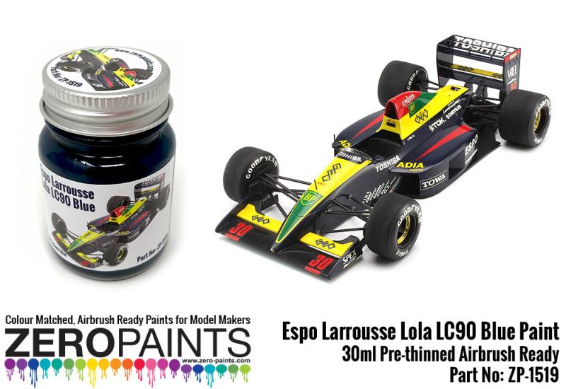 Espo Larrousse Lola LC90 Blue Paint 30ml
