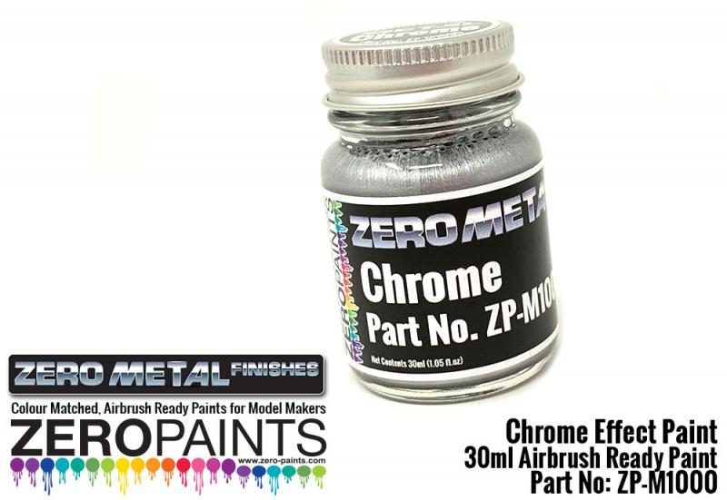 Chrome Paint 30ml - Zero Paints