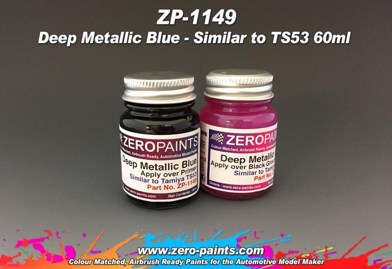 Deep Metallic Blue (Similar to TS53) Paint Set 2x30ml
