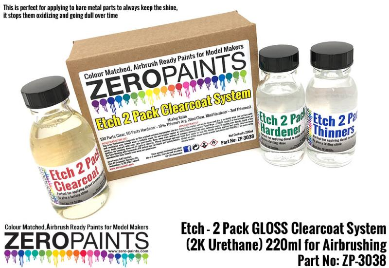 Etch - 2 Pack GLOSS Clearcoat System (2K Urethane) 220ml