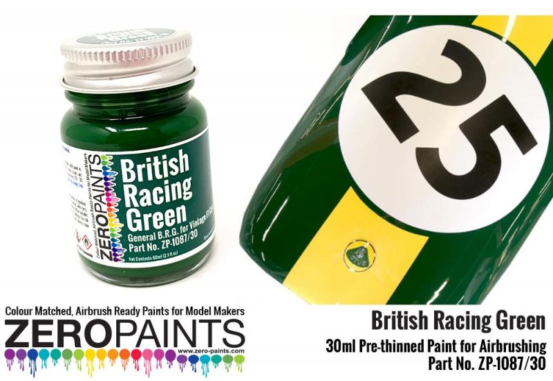 British Racing Green - BRG (Solid) Paint 30ml