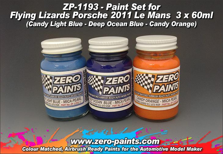 Flying Lizard Porsche 2011 Paints 3x30ml