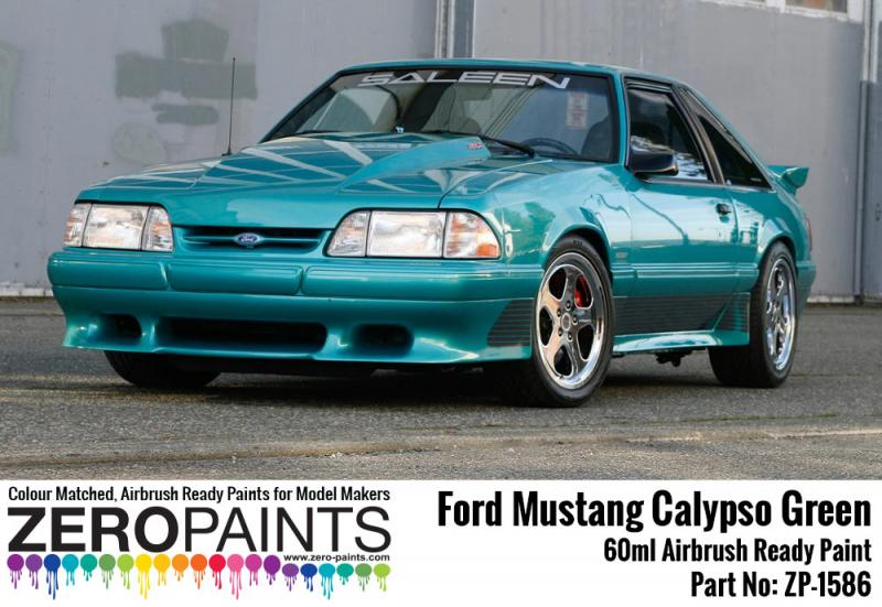 Ford Mustang Calypso Green Paint 60ml