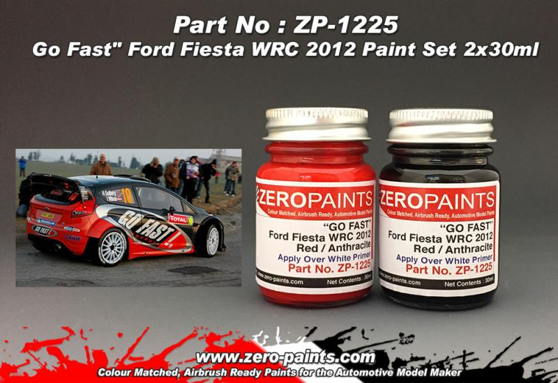Go Fast Ford Fiesta WRC 2012 Paint Set 2x30ml