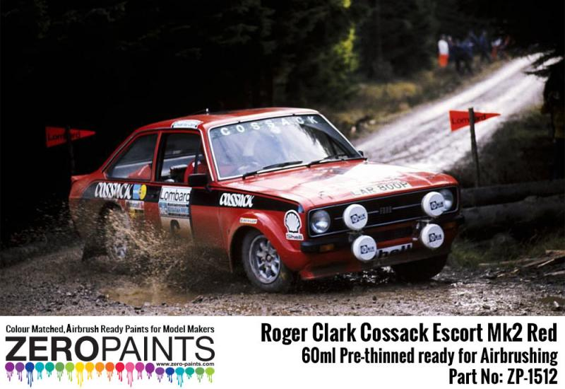 Roger Clark Cossack Escort Mk2 Red Paint 60ml