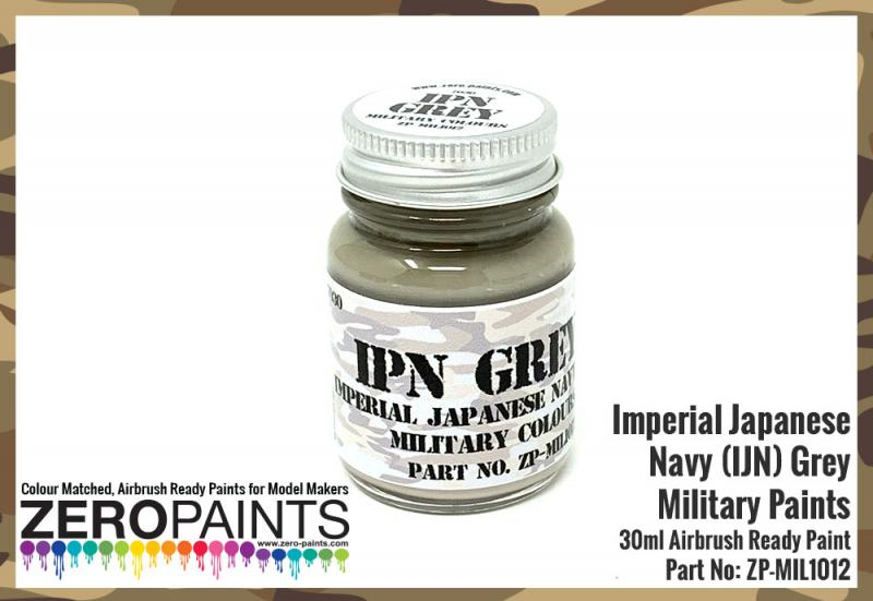 Imperial Japanese Navy (IJN) Grey Paint 30ml