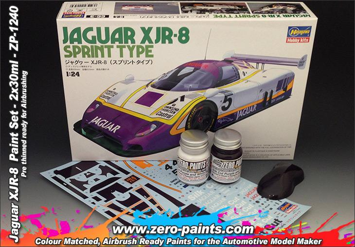 Jaguar XJR-8 Paint Set 2x30ml