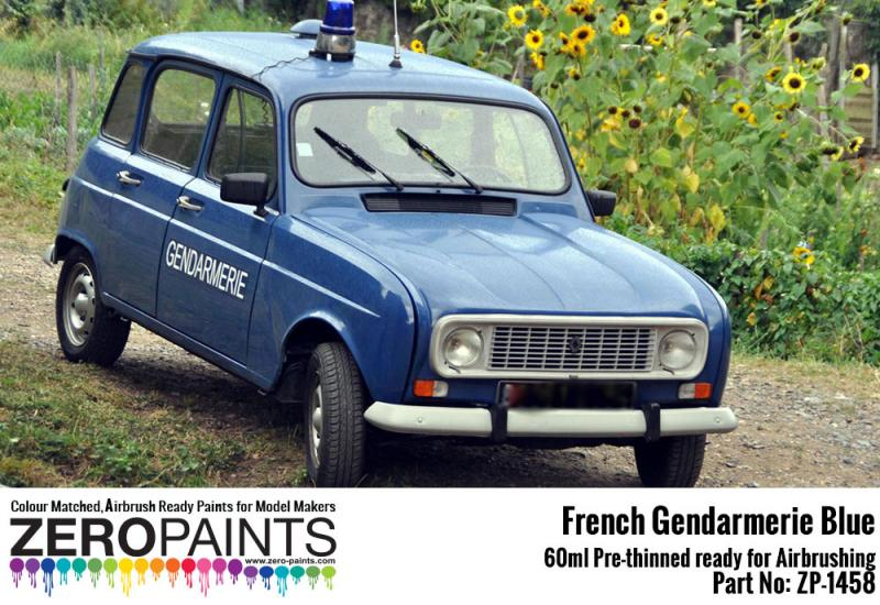 French Gendarmerie Blue Paint 60ml