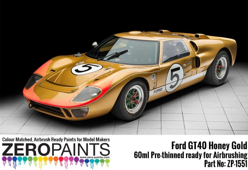 Ford GT40 Honey Gold Paint 60ml