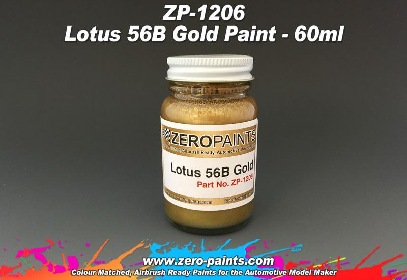 Lotus 56B Gold Paint 60ml