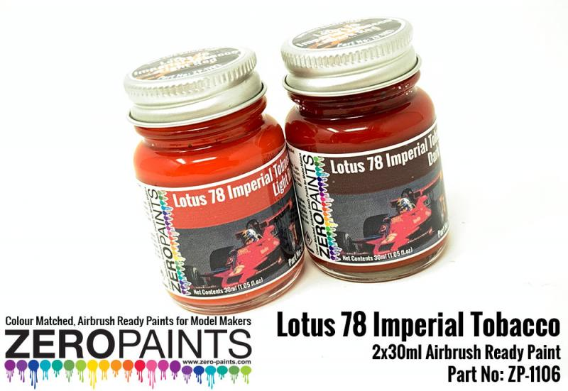 Lotus 78 Imperial Tobacco Paint Set 2x30ml