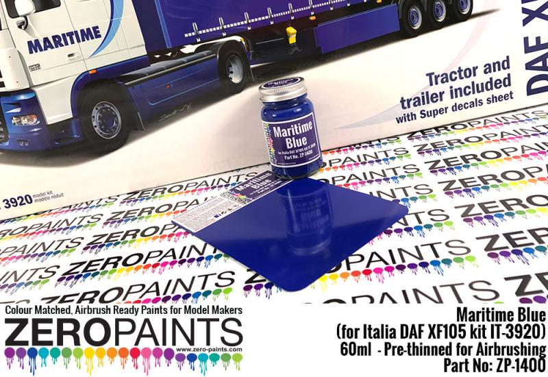 Maritime Blue Paint 60ml - (for Italia DAF XF105 kit IT-3920)