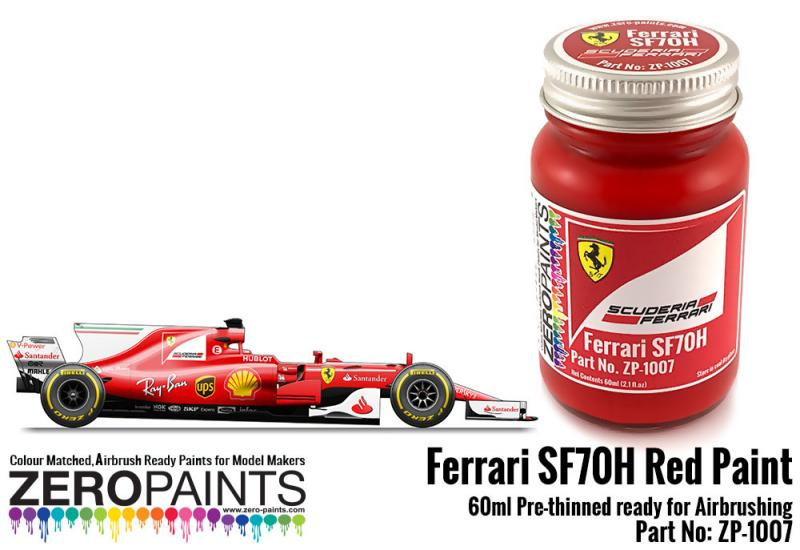Ferrari SF70H Red Paint 60ml