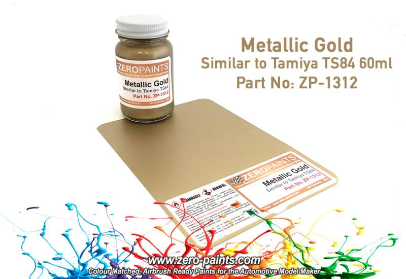 Metallic Gold Paint - Similar to TS84 60ml