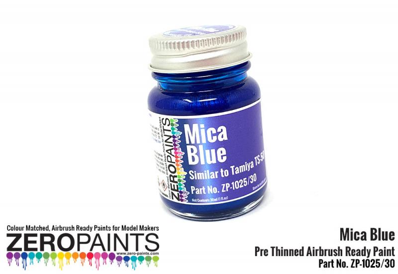 Mica Blue Paint (Similar to TS50) 30ml