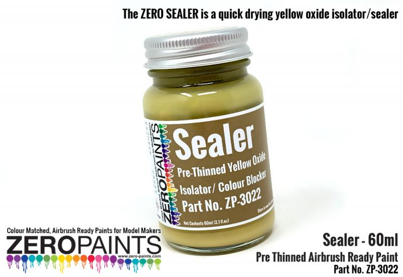 Pre-Thinned Paint Sealer - 60ml