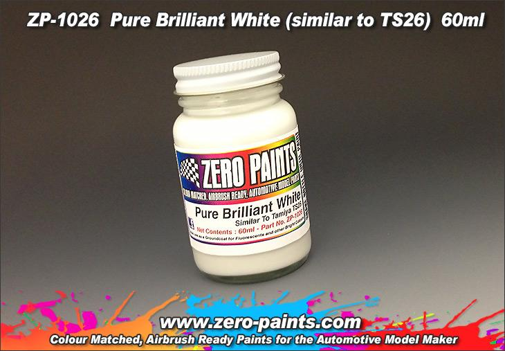 Pure Brilliant White Paint (Similar to TS26) 60ml