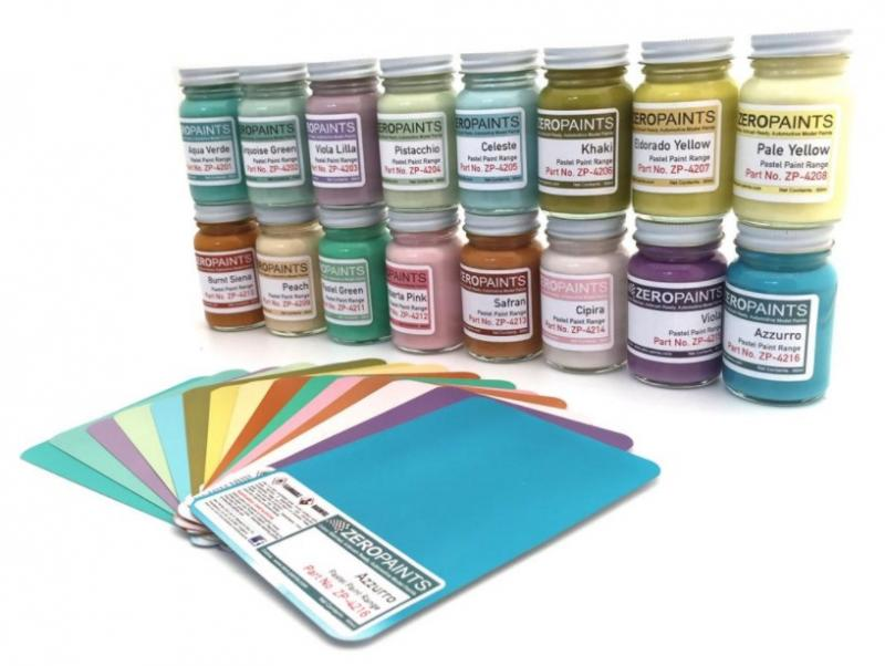 Pastel Paints (16 Shades Available) 60ml