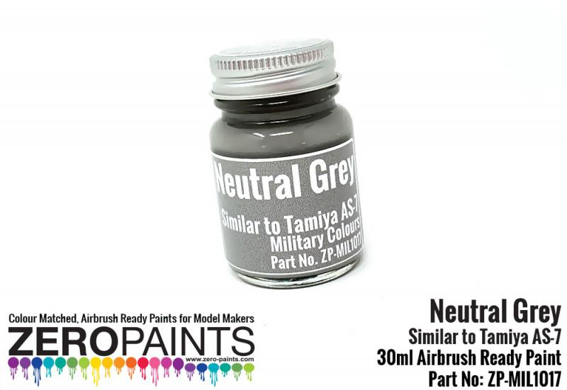 Neutral Grey (Similar to AS-7) Paint 30ml