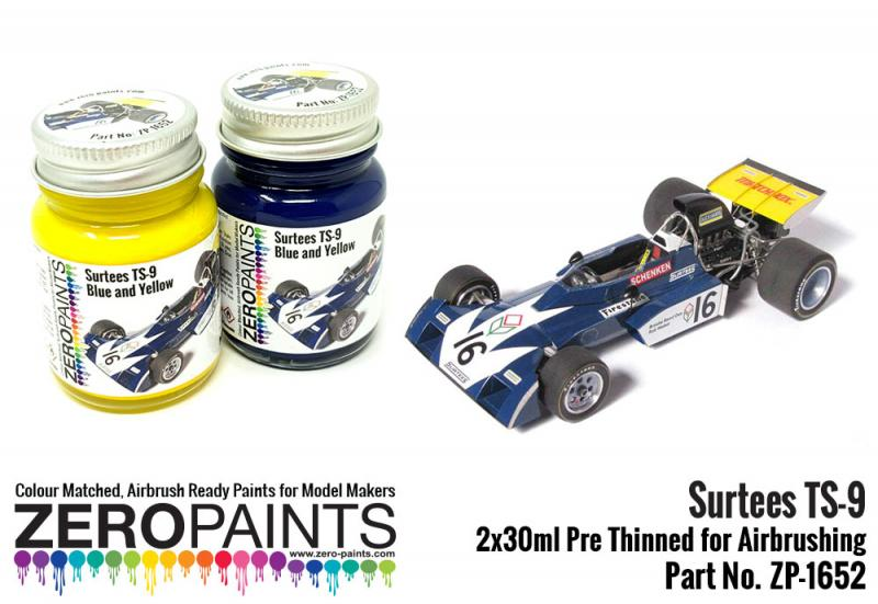 Surtees TS-9 Blue/Yellow Paint Set 2x30ml