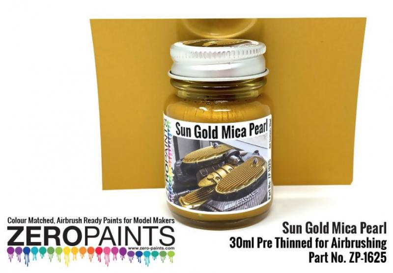 Sun Gold Mica Pearl Paint 30ml