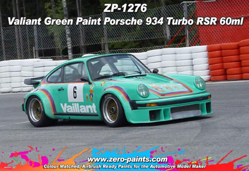 Valliant Green Paint Porsche 934 Turbo RSR 60ml