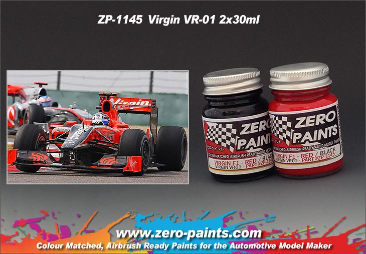 Virgin VR-01 (Marussia F1 Team) Paint Set 2x30ml