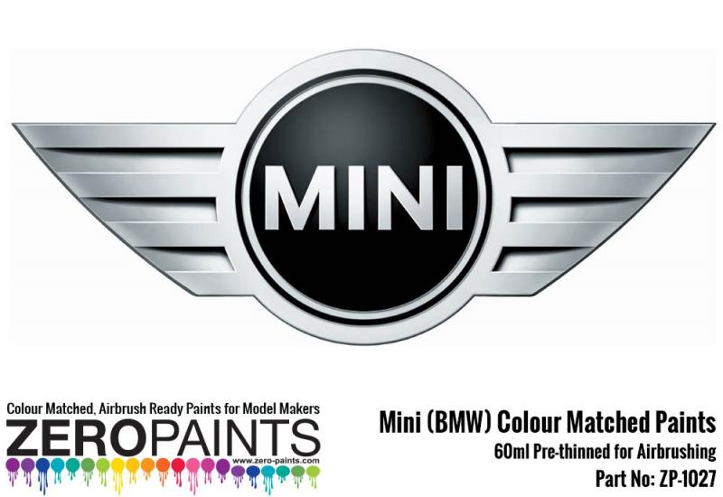 New Mini (BMW) Paint 60ml