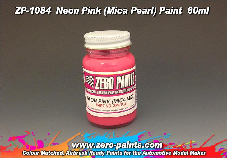 Neon Pink Paint - Mica Pearl 60ml