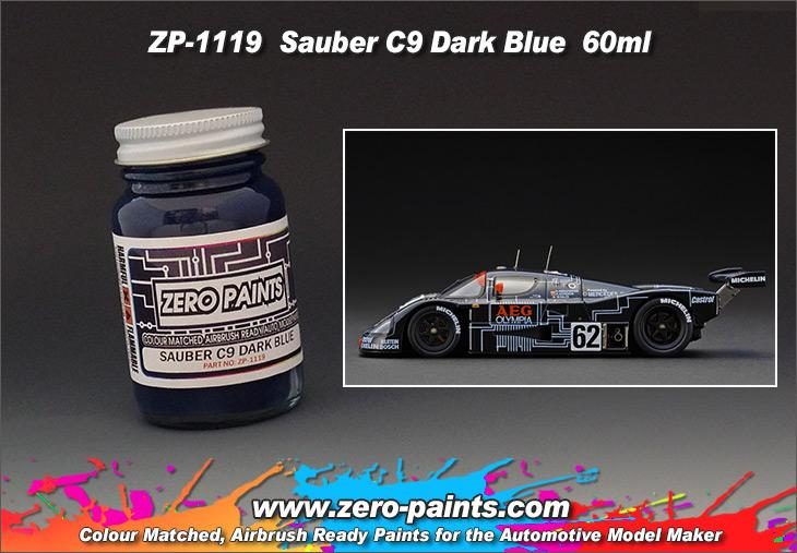 Sauber Mercedes C9 Dark Blue Paint 60ml