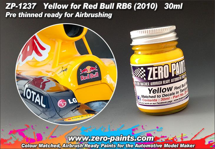 Yellow (Decal Matched) Red Bull Paint 30ml