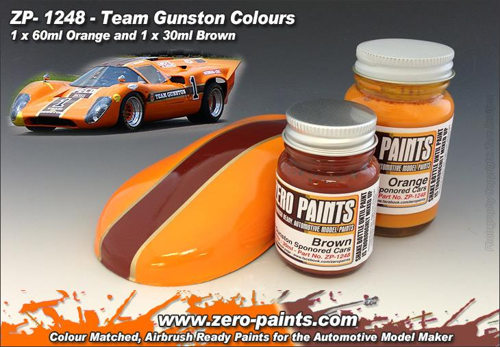 Team Gunston Paint Set 2x30ml