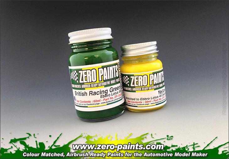 Lotus 49 (Ebbro) Paint Set 2x30ml