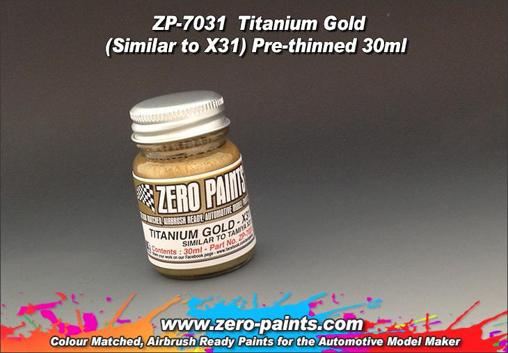 Titanium Gold Paint 30ml - Similar to Tamiya X31