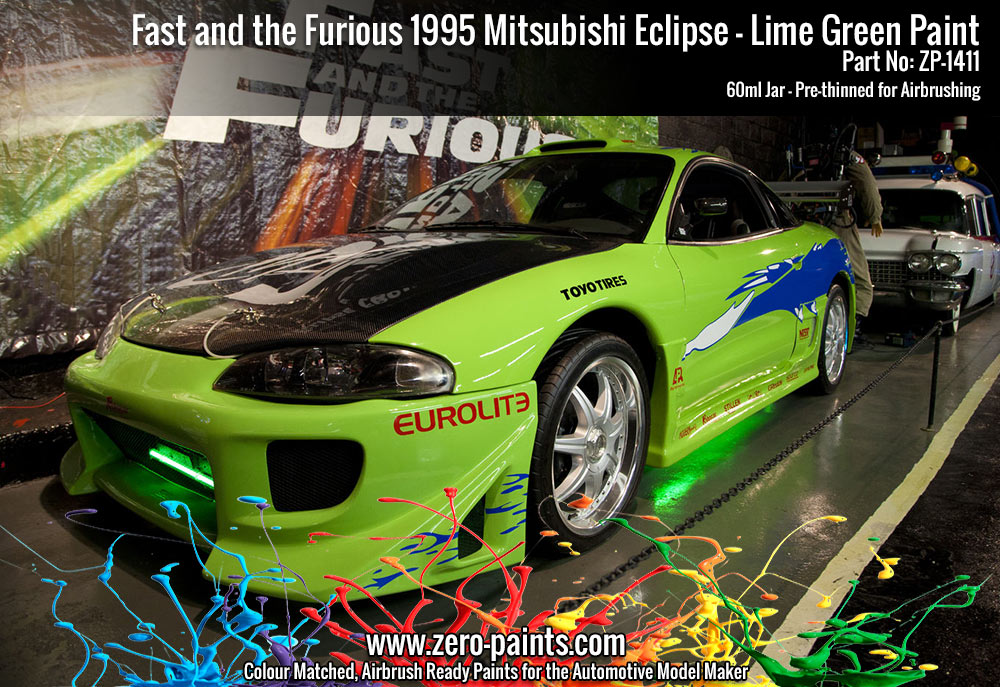 Fast And Furious 3 Full Movie >> Fast and the Furious 1995 Mitsubishi Eclipse Lime Green ...